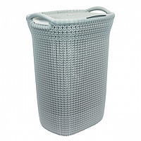 Емкости для хранения Корзина для белья knit серо-голубая (228411/03676-X60-00) Curver