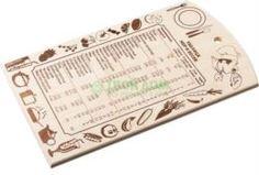 Разделочные доски Разделочная доска Marmiton Таблица мер и весов