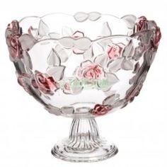 Вазы Ваза-чаша на ножке 24 см Natascha Walter Glass (1203776)