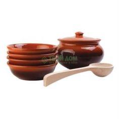 Декоративная посуда Набор посуды Вятская керамика