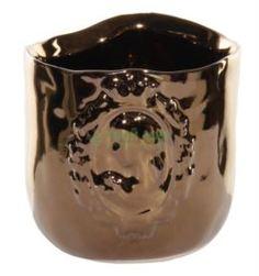Вазы Ваза Shi Shi Обиход Керамическая camee золот 7.5см (36030)