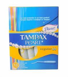 Средства личной гигиены Тампон Tampax Discreet Pearl Regular Duo 18шт