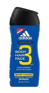 Средства по уходу за телом Гель для душа Adidas шампунь для мужчин 250мл