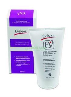 Средства по уходу за волосами Шампунь Evinal Крем-шампунь с экстрактом плаценты при выпадении волос