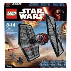 Конструкторы, пазлы ИГРУШКА ЗВЕЗДНЫЕ ВОЙНЫ STAR WARS WOLF3ТМ 75101 Lego