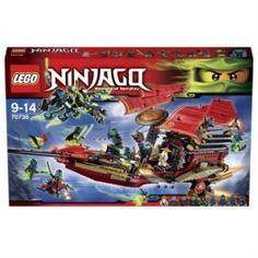 Конструкторы, пазлы Игрушка Ниндзяго Корабль Дар Судьбы- Решающая битва 70738 Lego