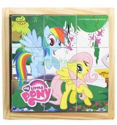Интерактив обучающий Развивающая игрушка Играем вместе кубики my little pony 9 куб (177822)
