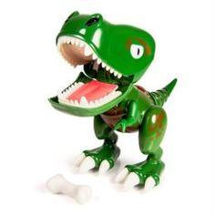Интерактив обучающий Игрушка Dino Zoomer Детёныш динозавра интерактивный