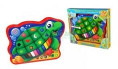 Интерактив обучающий Развивающая игрушка Learning journey Черепашка веселая морская эл/мех звук