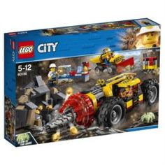 Конструкторы, пазлы Конструктор LEGO City Mining Тяжелый бур для горных работ