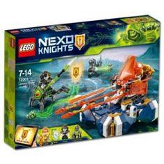 Конструкторы, пазлы Машина нексо летающая турнирная ланса Lego 72001