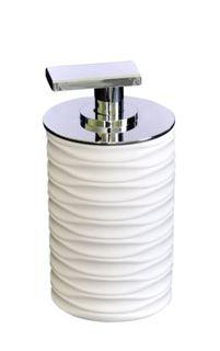 Принадлежности для ванной Дозатор для жидкого мыла Swing белый Ridder