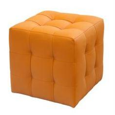 Столы, стулья и пуфики Банкетка лотос оранжевая Dreambag