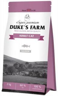 Сухой корм для кошек Корм для кошек DUKES FARM лосось 2кг