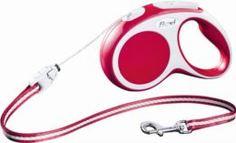 Амуниция Рулетка для собак FLEXI Vario S 5м красная