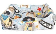 Домики, лежаки, переноски, когтеточки Лежак для собак PRIDE Crazy Pets Дискодог 70x60x23 см