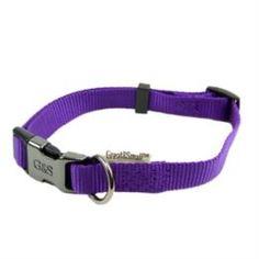 Амуниция Ошейник для собак GREAT&SMALL 25x450-650мм нейлон Фиолетовый