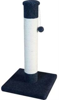 Домики, лежаки, переноски, когтеточки Когтеточка для кошек MAJOR Столбик 40х40х74см