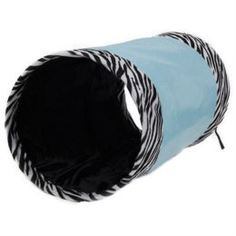 Домики, лежаки, переноски, когтеточки Тоннель для кошек MAJOR Colour шуршащий голубой 25х50 см