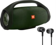 Портативная акустика, колонки Портативная акустика JBL Boombox Green + Наушники JBL Duet Mini Black