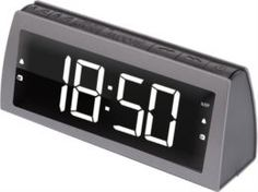 Электронные часы Радиочасы Ritmix RRC-1850 Grey