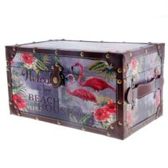 Емкости для хранения Сундук 34.5х20.5х18 Fuzhou fashion home фламинго