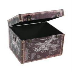 Емкости для хранения Ящик для хранения 36x28x24 Grand forest Юна