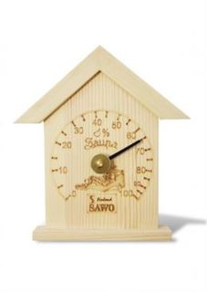 Картины, панно, таблички Гигрометр SAWO маленький домик сосна 115 Н