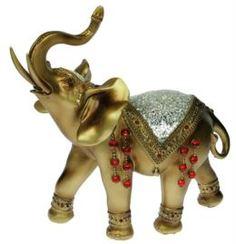 Предметы интерьера Фигурка декоративная Русские подарки Слон 27х13х29 см