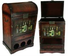 Аксессуары для спиртного Сундук-бар Русские подарки 35x26x60 см