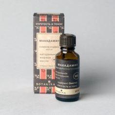 Средства по уходу за телом Масло жирное Botavikos Макадамии 100% 30 мл Botanika.