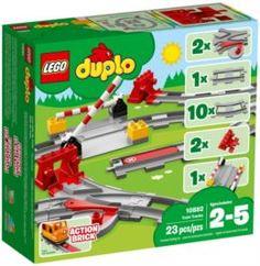 Конструкторы, пазлы Конструктор LEGO Duplo Town Рельсы