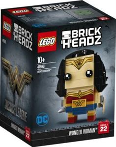 Конструкторы, пазлы Конструктор LEGO BrickHeadz Чудо-женщина