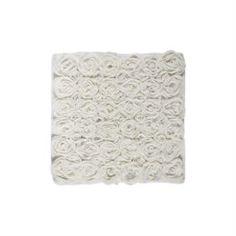 Коврики Коврик для ванной AQUANOVA Rose айвори 60x60 см