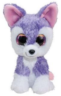 Мягкая игрушка Волк LUMO Susi фиолетовый 24 см
