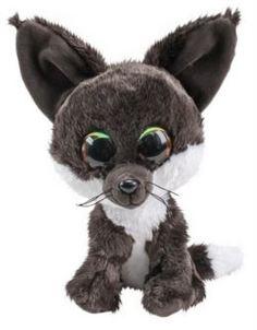 Мягкая игрушка Лисёнок LUMO Noki серый 15 см