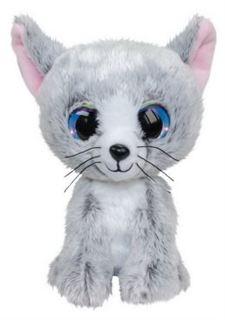 Мягкая игрушка Котенок LUMO Katti светло-серый 15 см