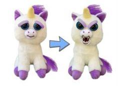 Мягкая игрушка Единорог белый Feisty Pets 22 см
