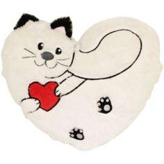 Мягкая игрушка Подушка Gulliver Пушистик с сердцем 25 см