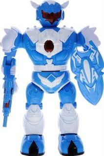 Роботы Электронная игрушка ABtoys Робот с бластером и щитом