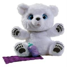 Интерактив обучающий Мягкая игрушка Hasbro FurRealFrends Полярный медвежонок