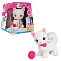 Интерактив обучающий Интерактивная игрушка IMC toys Кошка Bianca 5 команд