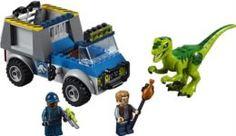 Конструкторы, пазлы Конструктор LEGO Грузовик спасателей для перевозки раптора