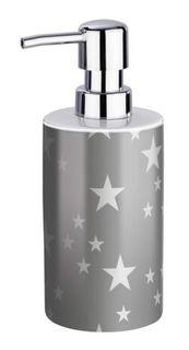 Принадлежности для ванной Дозатор для мыла Wenko Stella grey 360 мл