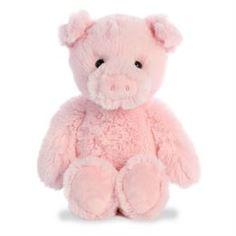 Мягкая игрушка Игрушка мягкая Aurora Cuddly Friends Поросёнок 30 см