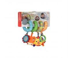 Игрушка для новорожденных Игрушка Infantino спиралька развивающая