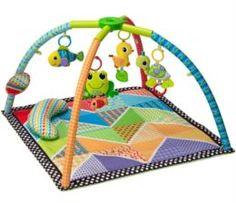 Игрушка для новорожденных Коврик Infantino озеро развивающий