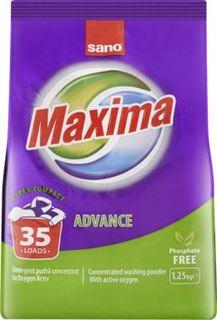 Средства для стирки и ухода за бельем Стиральный порошок SANO Maxima Advance концентрат 1,25 кг