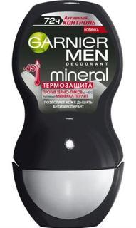Средства по уходу за телом Дезодорант-антиперспирант Garnier Mineral Men Активный контроль Термозащита 50 мл
