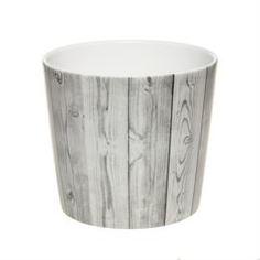 Кашпо, горшки, балконные ящики Кашпо Scheurich 870 white timber 15 см